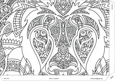 giant coloring posters for adults