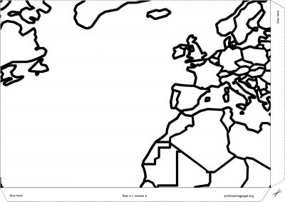 giant coloring poster world map continents