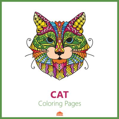 coloring book cats