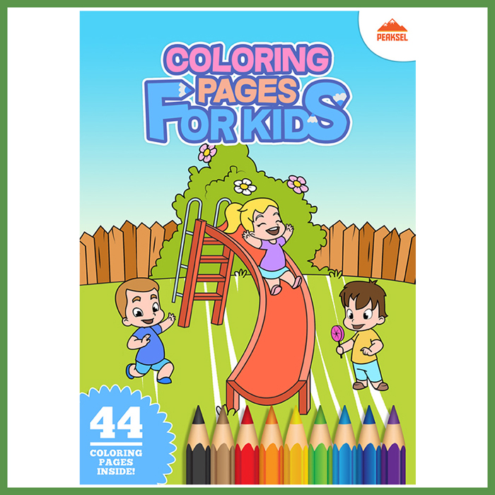 Printable Coloring Book For Kids – Giant Coloring Posters